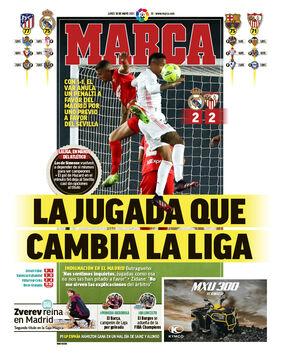 روزنامه مارکا| بازیای که لالیگا را تغییر میدهد