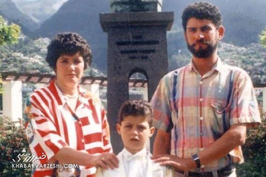 درخت خانوادگی کریستیانو رونالدو - ژوزه دینیس و ماریا دولورس (پدر و مادر)