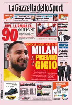 روزنامه گاتزتا| میلان، پاداش جوجو
