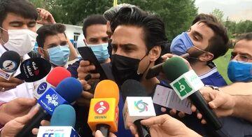 ویدیو| صحبتهای فرهاد مجیدی در حاشیه تمرین امروز استقلال