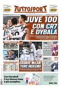 روزنامه توتو| یووه ۱۰۰ با CR7 و دیبالا