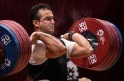 ویدیو  لحظه تلخ آسیب دیدگی سهراب مرادی زیر وزنه ۱۷۰ کیلوگرم/ پایان رویای المپیک توکیو
