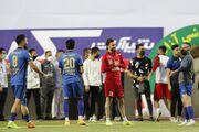 گزارش تصویری  گرم کردن بازیکنان پرسپولیس و استقلال پیش از دربی