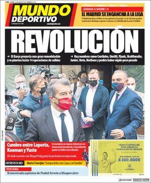 روزنامه موندو| انقلاب