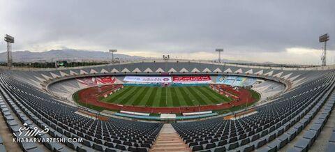 ورزشگاه آزادی؛ پرسپولیس - استقلال (دربی تهران)