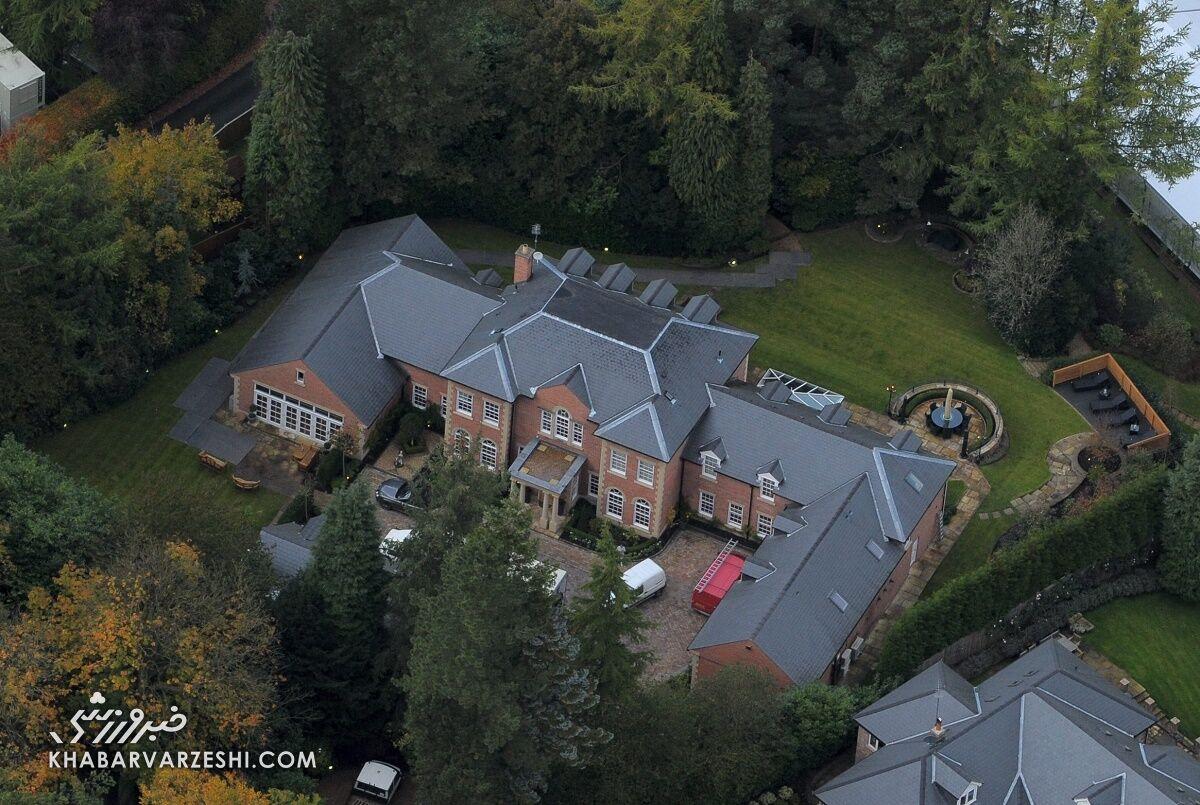 گرانترین خانه فوتبالیستها (وین رونی)