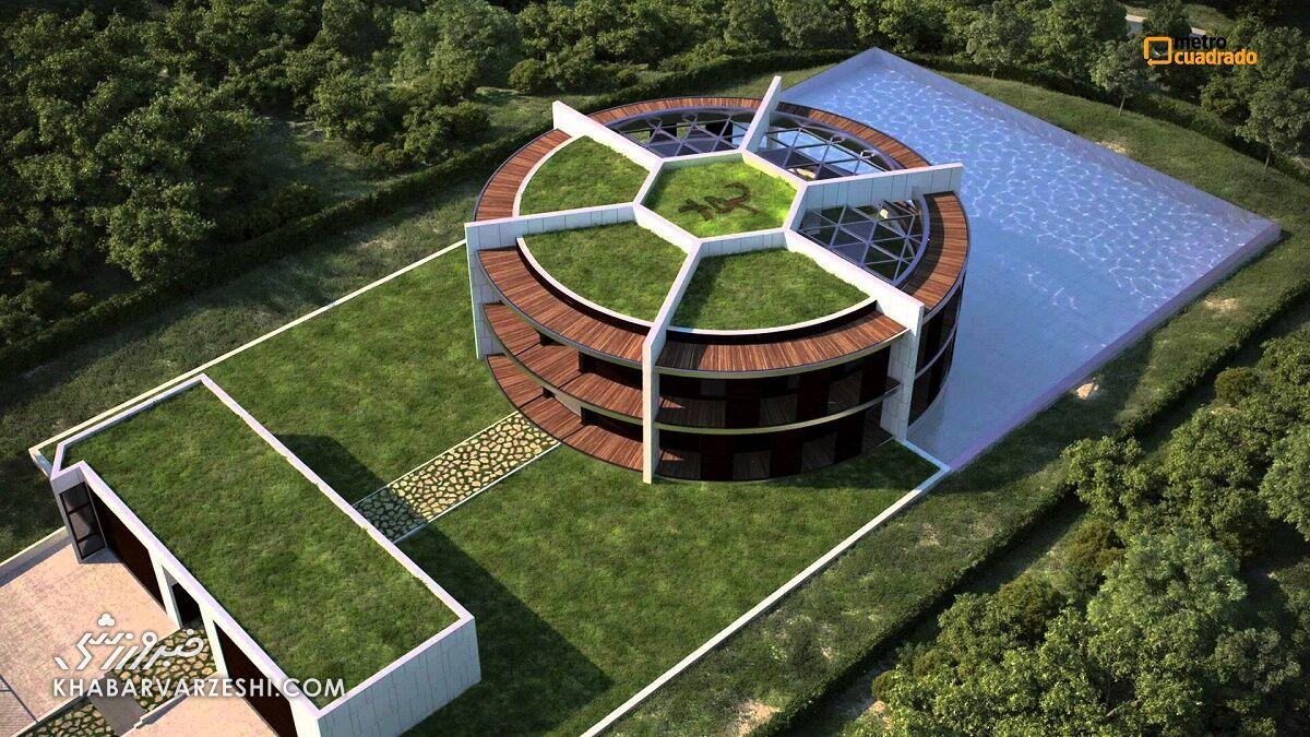 گرانترین خانه فوتبالیستها (لیونل مسی)