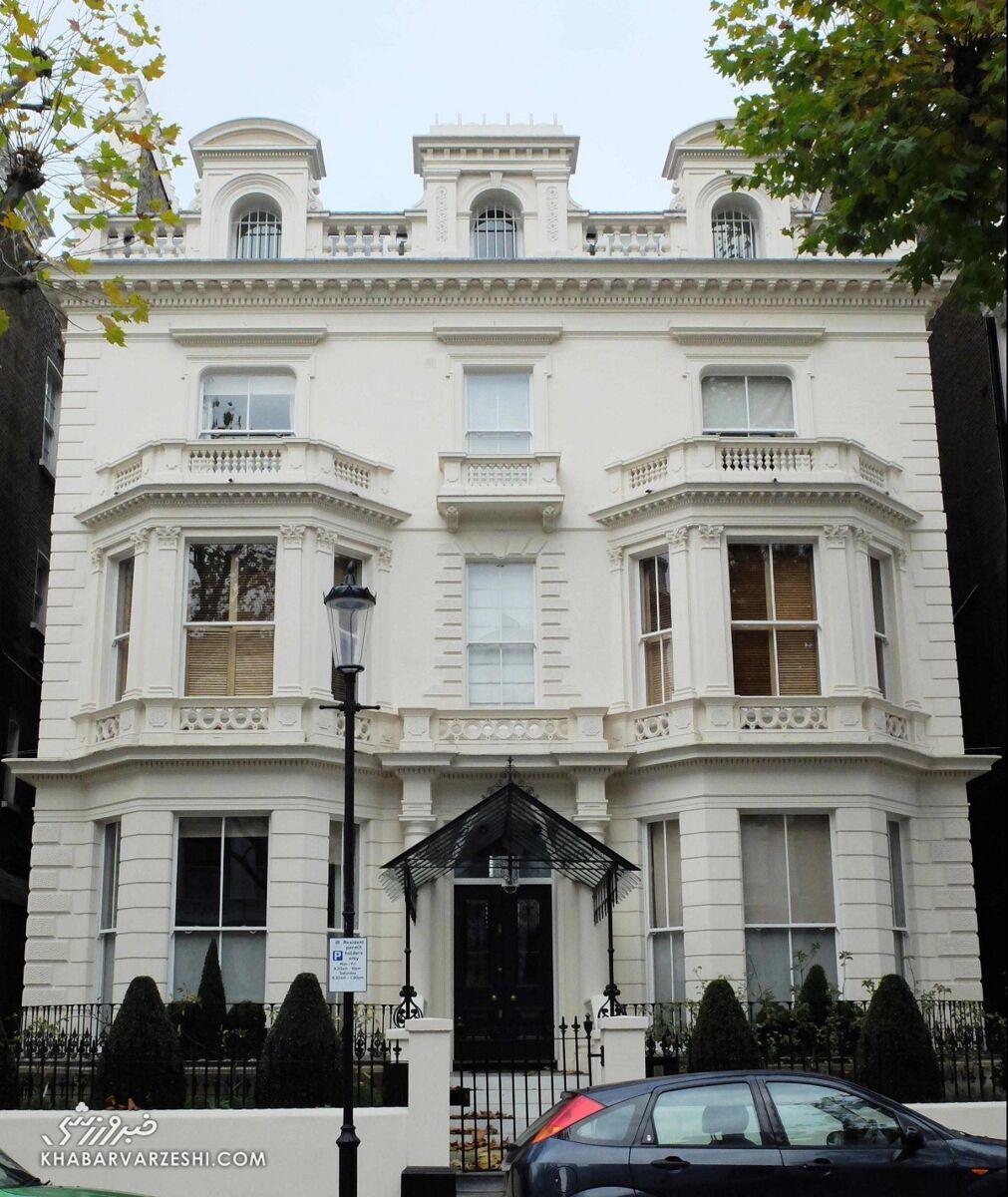 گرانترین خانه فوتبالیستها (دیوید بکام)