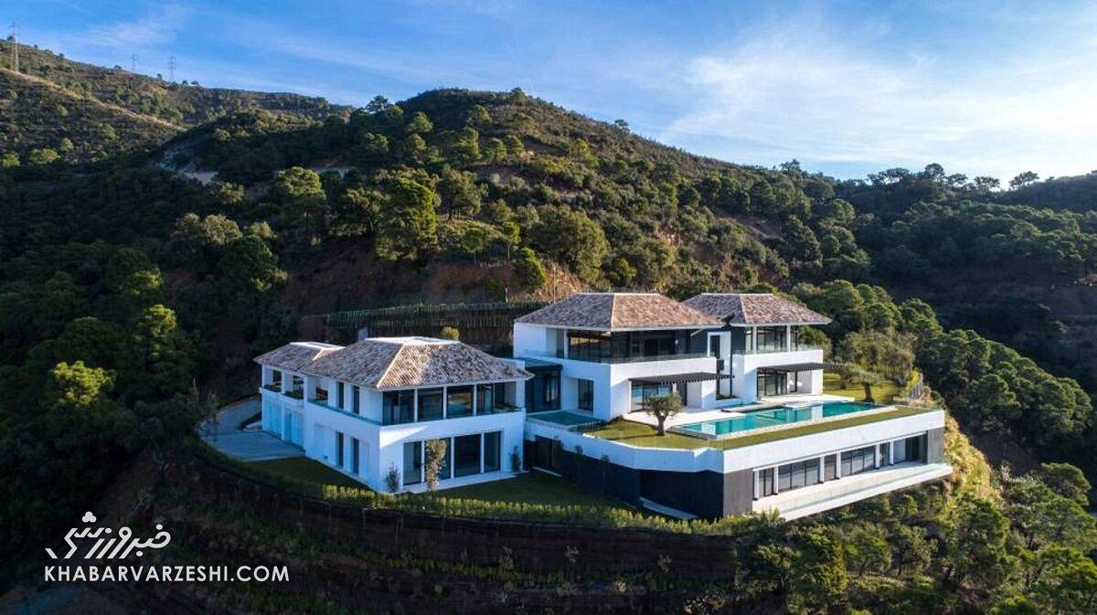 گرانترین خانه فوتبالیستها (کریستیانو رونالدو)