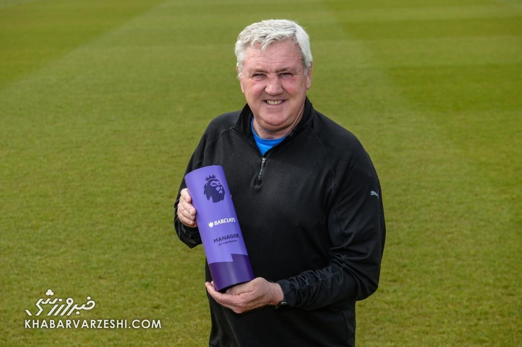 استیو بروس (بهترین مربی ماه آوریل 2021 لیگ برتر انگلیس)