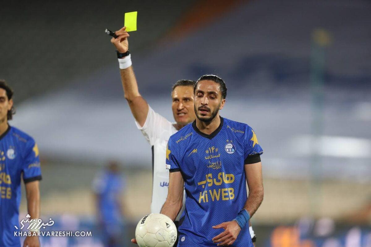 ادعای جنجالی بازیکن استقلال/ من در لیست سیاه تیم ملی قرار دارم!