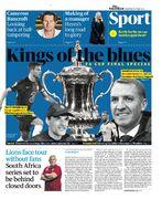 روزنامه گاردین| پادشاهان آبی