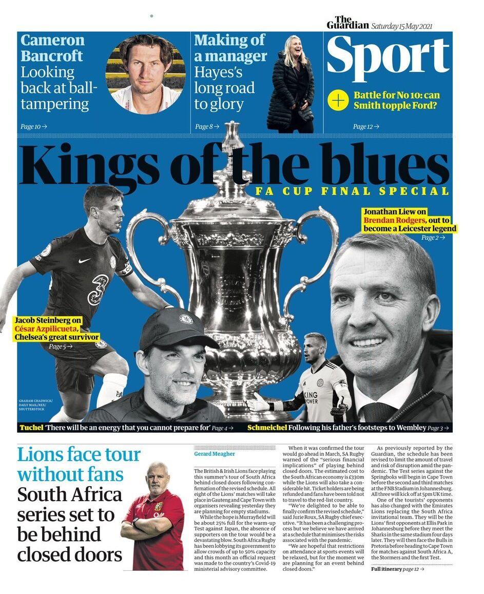 روزنامه گاردین  پادشاهان آبی