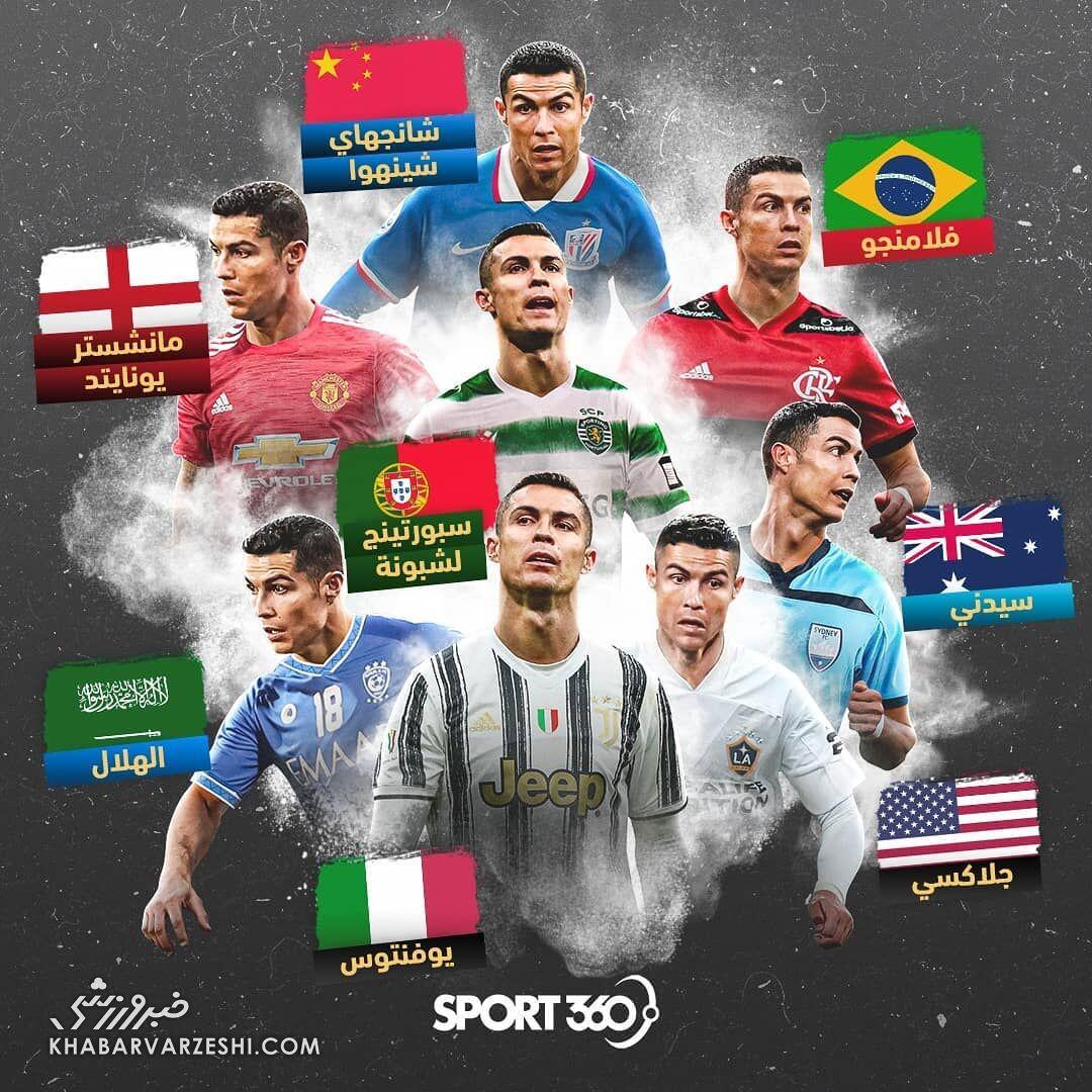 تیم آینده کریستیانو رونالدو (اسپورت 360 عربی)