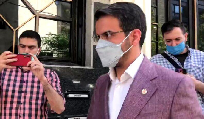 ویدیو| حضور جعفر سمیعی برای شرکت در جلسه کمیته انضباطی