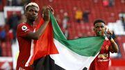 ویدیو  حمایت پوگبا و دیالو از مردم فلسطین