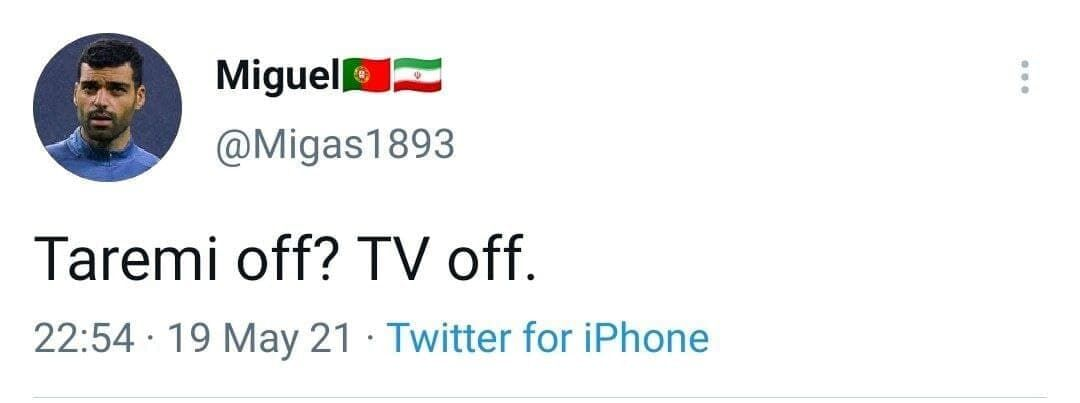 طارمی خاموش؛ تلویزیون خاموش/ جالبترین واکنش یک هوادار پورتو درباره طارمی