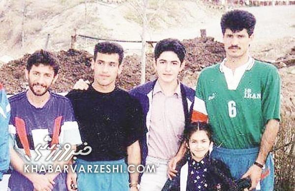 تصویری ناب از علی دایی با ۲ استقلالی در اردوی تیم ملی