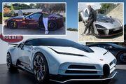 تصاویری از کلکسیون ۱۷ میلیون پوندی ماشینهای کریستیانو رونالدو/ CR7 عشق سرعت