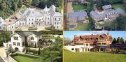 تصاویر| کدام فوتبالیستها گرانترین خانهها را دارند؟