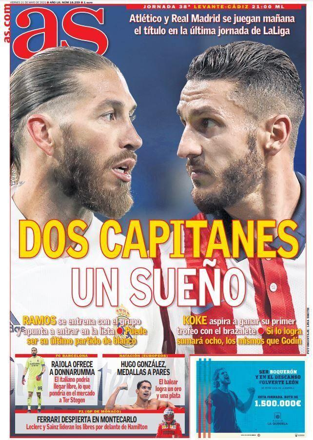 روزنامه آ اس  دو کاپیتان، یک رؤیا