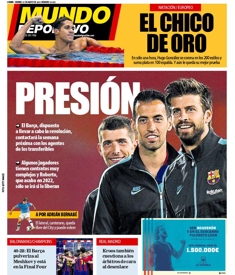 روزنامه موندو  فشار
