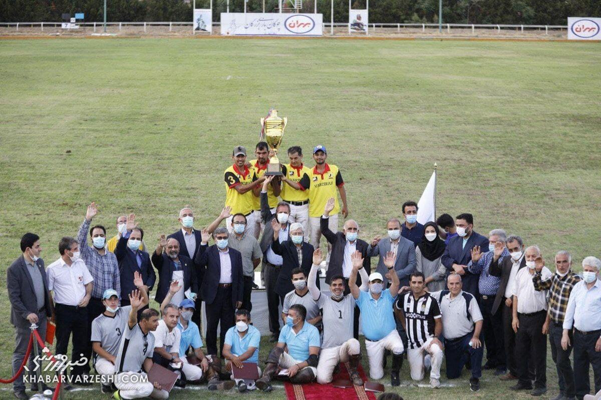 قهرمانی کانون چوگان البرز در جام فردوسی