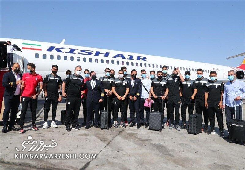 پایان خوش در منامه/ هواپیمای تیم ملی به تهران رسید