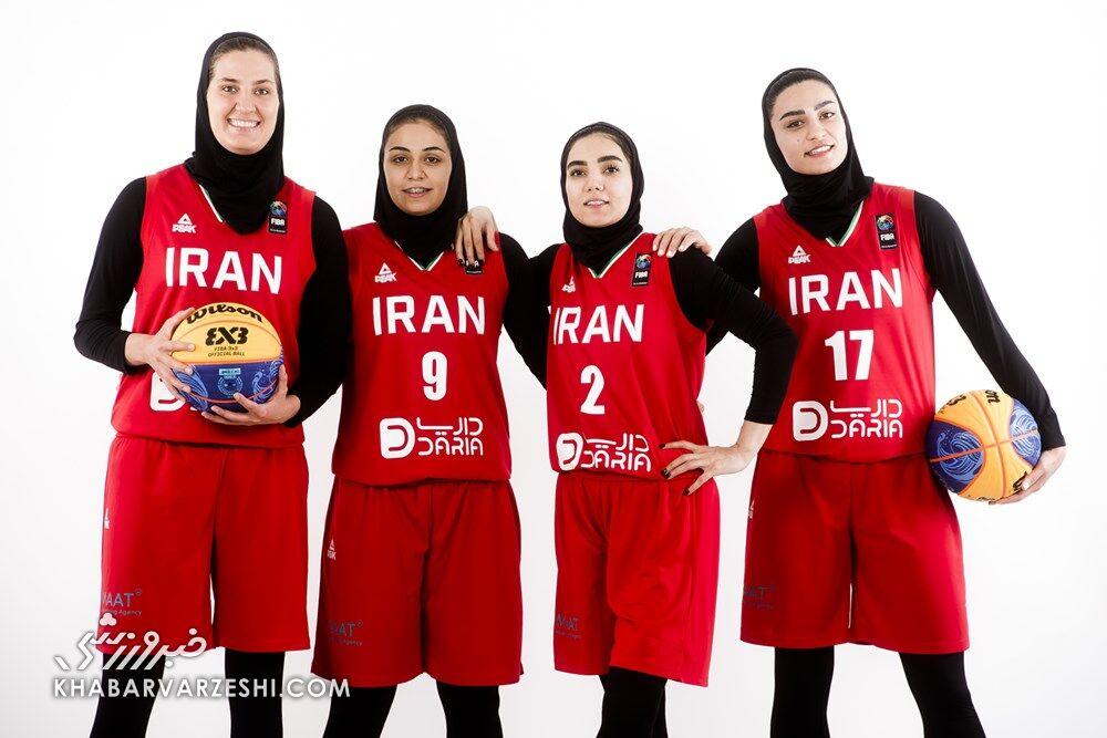 تیم ملی بسکتبال سهنفره زنان