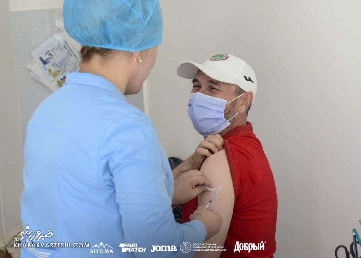 عکس| استقلالیها واکسن زدند