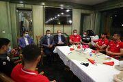 رئیس فدراسیون به جای بازیکنان از نوبخت تشکر کرد!/ تاریخیترین پیروزی تیم ملی رقم خورد