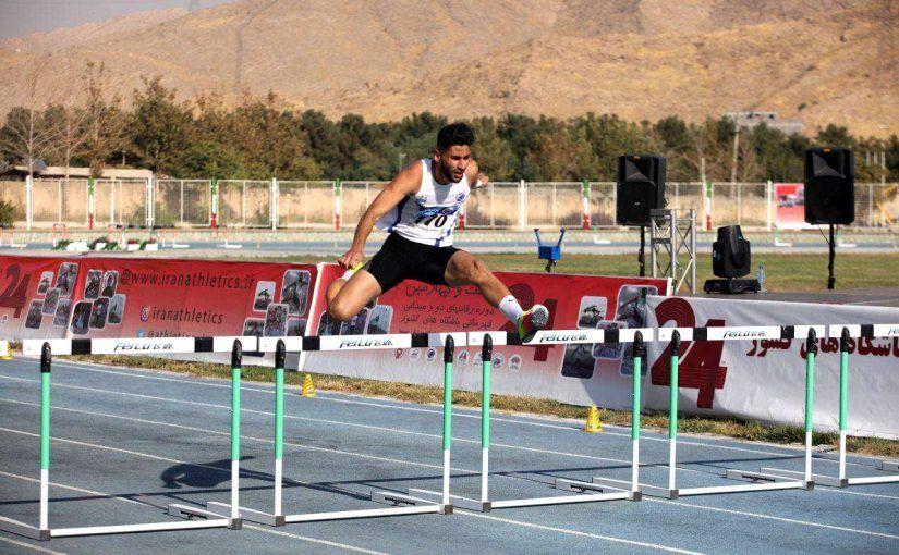 ماجرای دونده ایرانی که با مانع برخورد کرد