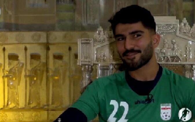 ویدیو| امیر عابدزاده: از بازی در اروپا لذت می برم