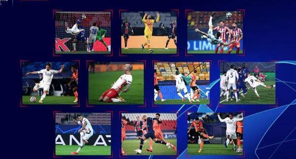 ویدیو| نامزدهای بهترین گل فصل لیگ قهرمانان اروپا