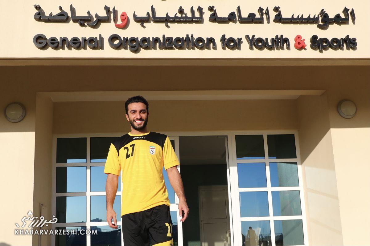 بازیکنی که در تیم ملی یک دقیقه هم بازی نکرد اما ناراحت نشد/ در بحرین قرمز و آبی نداشتیم
