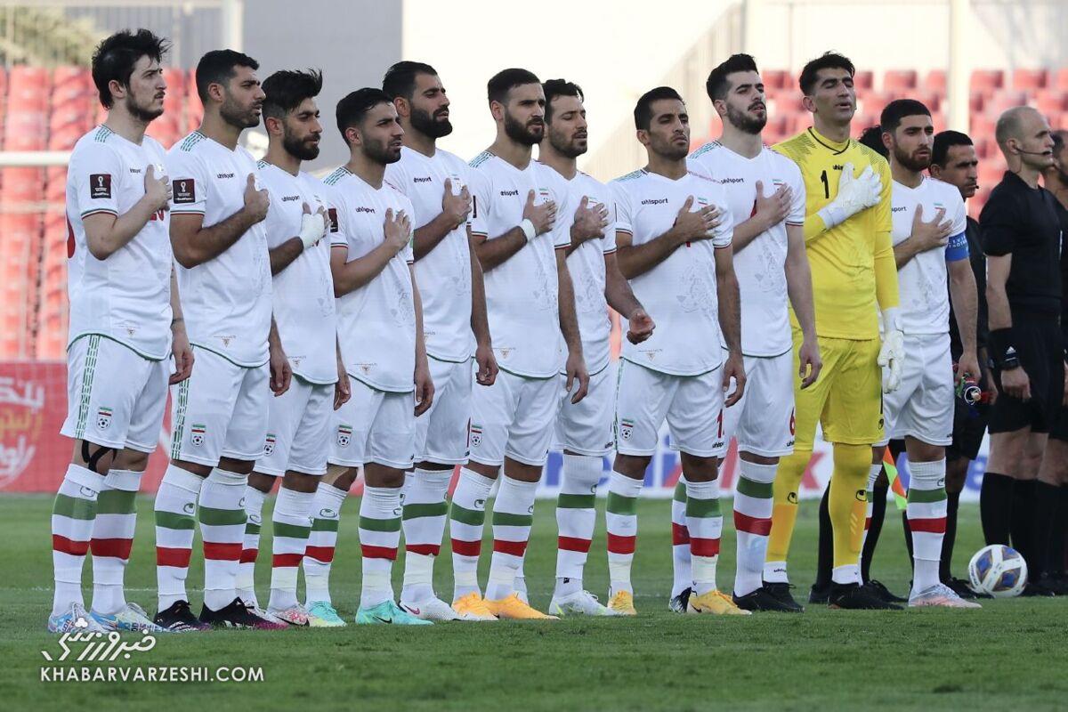 صعود تیم ملی در رده گرانقیمتترین تیمهای آسیا