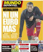 روزنامه موندو  یک یوروی دیگر نه