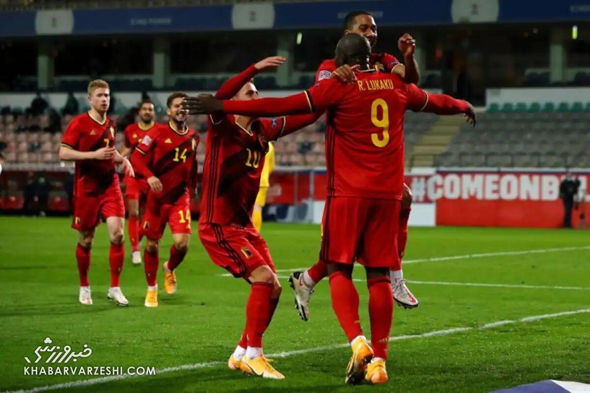 بلژیک (گروه B یورو 2020)