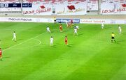 عکس  بنرهایی که بحرینیها برای مقابله با ایران نصب کردند