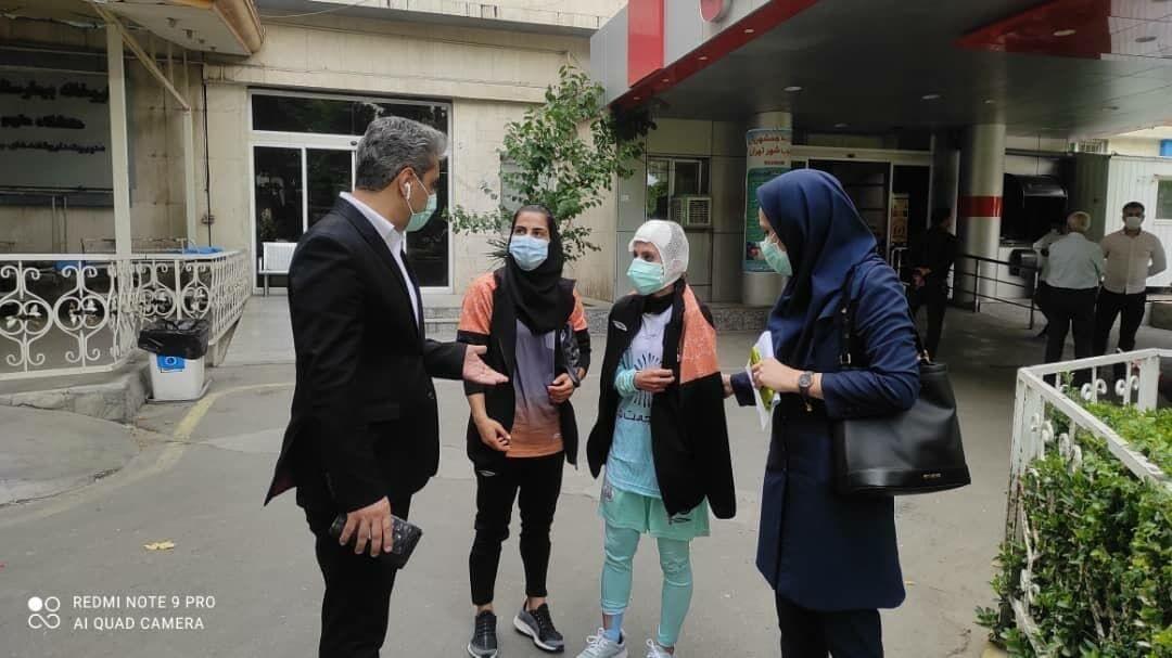 تصاویر دلخراش سانسور شده از فوتسال زنان ایران