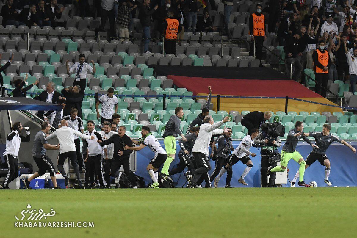 آلمان؛ قهرمان یورو زیر 21 سالههای 2021