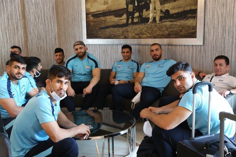 ۱۲ آزادکار ایرانی در جام علی علیاف داغستان