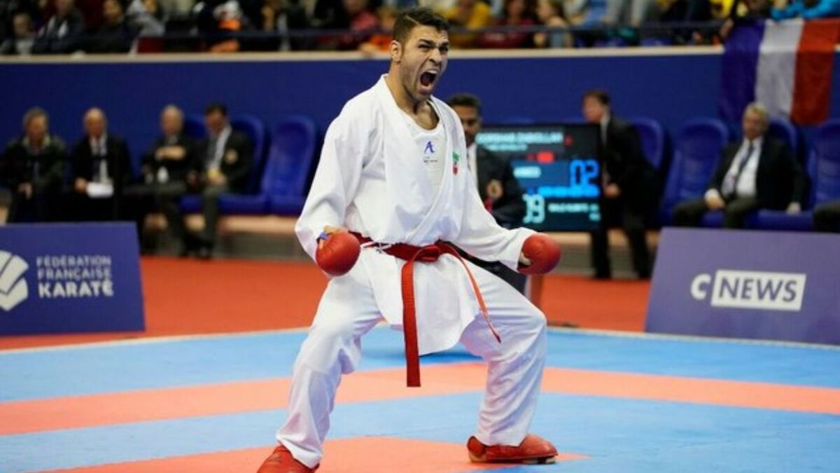 صافی: المپیک از حضور پورشیب محروم است/ دنیای کاراته به کاپیتان ما احترام میگذارد