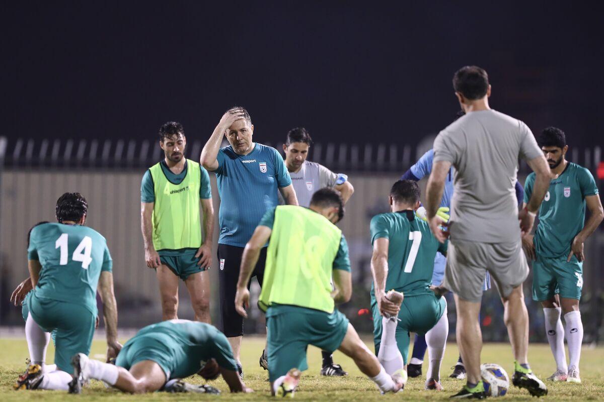 ویدیو| آخرین وضعیت تیم ملی پیش از دیدار با بحرین