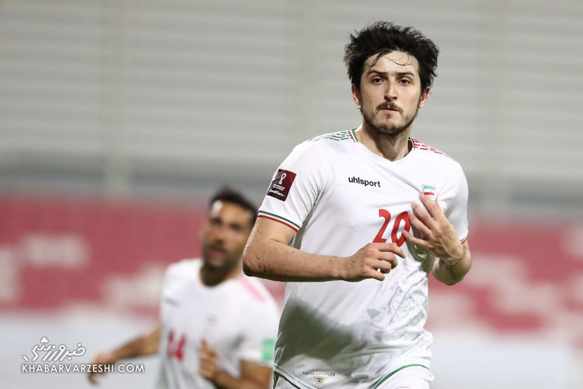 ویدیو| گل اول تیم ملی ایران به بحرین توسط سردار آزمون