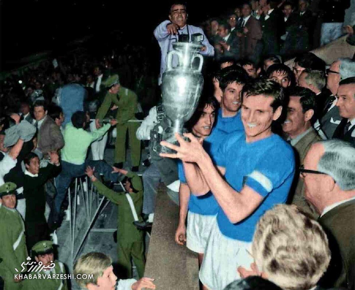 قهرمانان جام ملتهای اروپا (یورو 1968 - ایتالیا)
