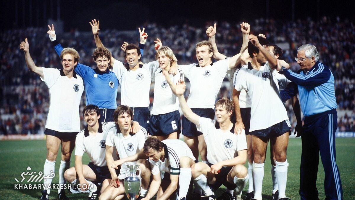 قهرمانان جام ملتهای اروپا (یورو 1980 - آلمان)