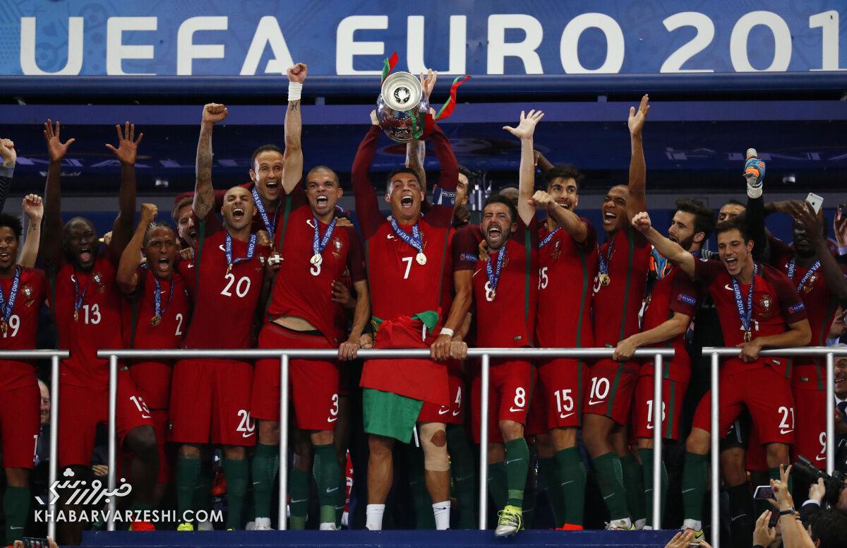 قهرمانان جام ملتهای اروپا (یورو 2016 - پرتغال)