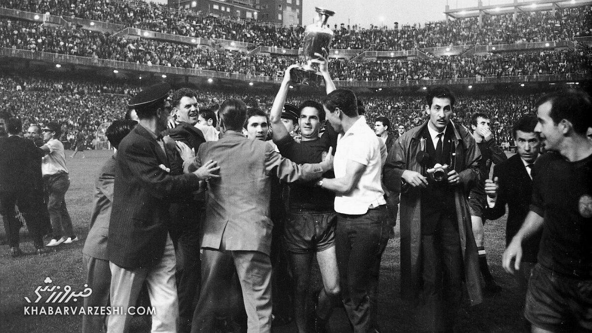قهرمانان جام ملتهای اروپا (یورو 1964 - اسپانیا)