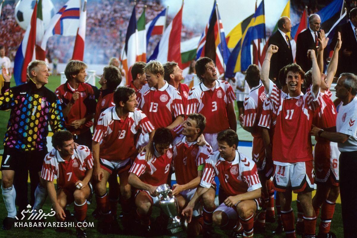 قهرمانان جام ملتهای اروپا (یورو 1996 - دانمارک)